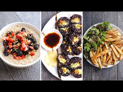 What I Eat In A Day: Easy & Healthy Vegan Recipes!