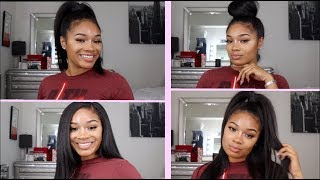 BOMB A$$ Hairstyles with Clip-ins