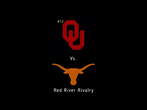 #12 OKLAHOMA SOONERS VS. TEXAS LONGHORNS!!! RED RIVER RIVALRY!!! LIVE!!!