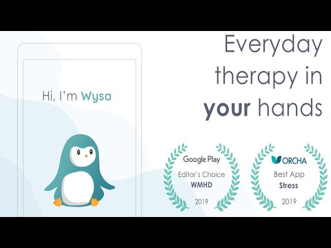 Wysa: stress, depression & anxiety therapy chatbot