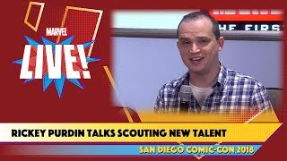 How to Be a Marvel Artist with Talent Scout Rickey Purdin