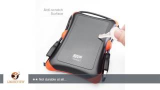 Silicon Power Armor A30 2.5-inch Shockproof SATA Hard Drive Enclosure Black (SP000HSPHDA30S3K) |