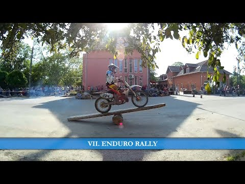 VII. Enduro rally