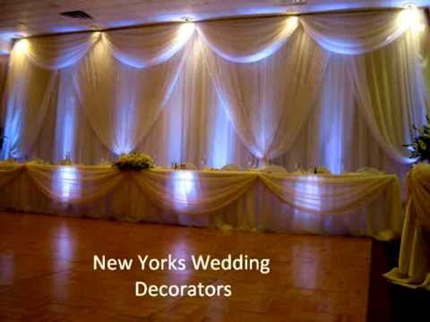 Best 2012 Reception Decorations Head Table Decorations Youtube