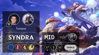 Syndra Mid vs Diana - EUW Challenger Patch 9.20