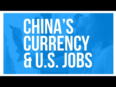 The Connection Between China's Currency and US Unemployment
