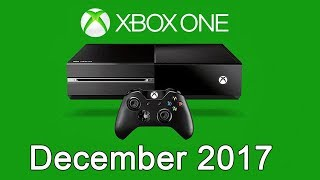 XBOX ONE Free Games - December 2017