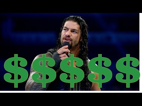 Los Luchadores Mejor Pagados De WWE 2015