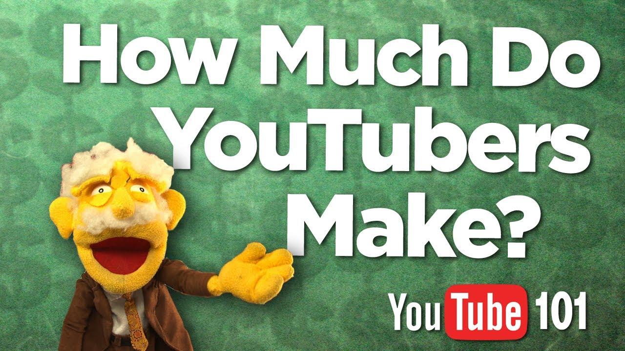 How Much Do YouTubers Make SECRETS REVEALED  YouTube
