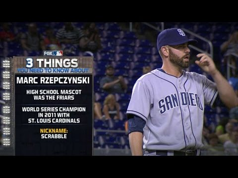 SD@MIA: Newly acquired Rzepczynski debuts for Padres