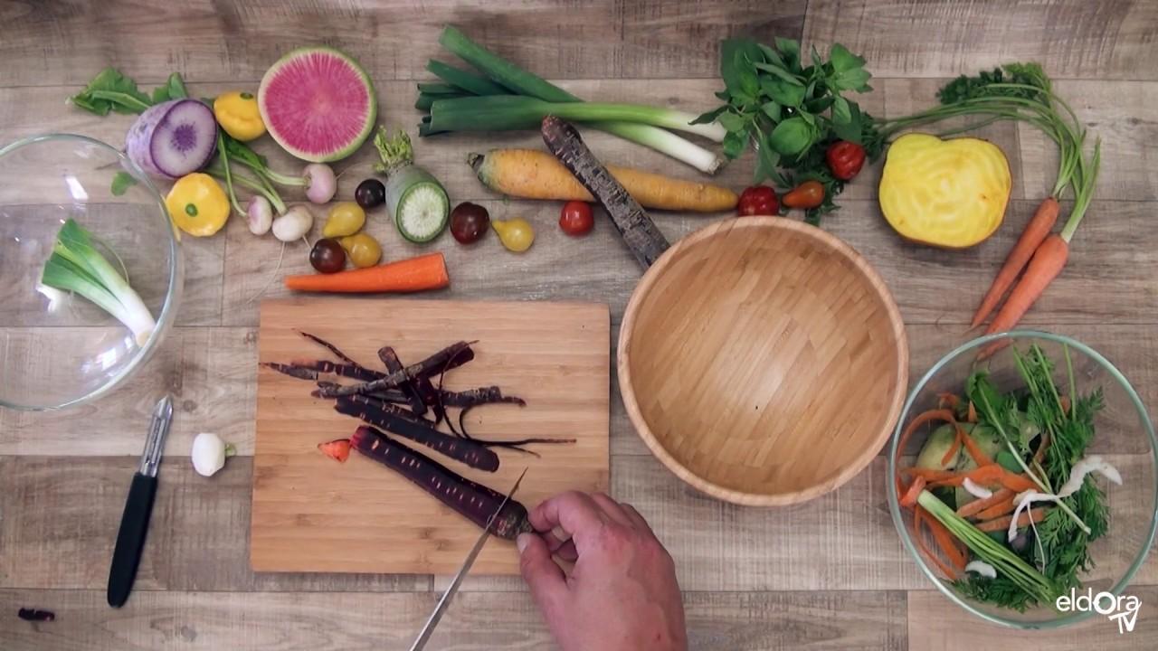 Potage zéro déchet et ses légumes printaniers