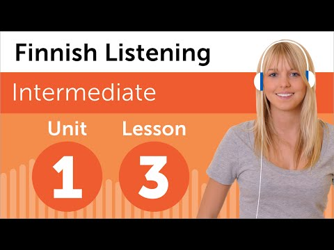 Finnish Listening Practice - At the Hairdresser in Finland