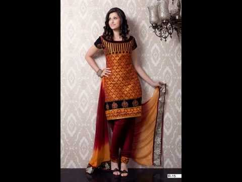 SALE-banarsi silk cotton suits unstiched - YouTube