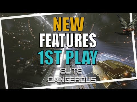 Elite Dangerous New Features First LOOK Gameplay