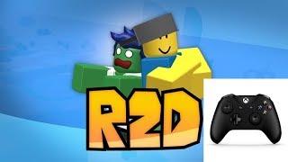 PLAYING R2DA ON XBOX! (Roblox R2da)