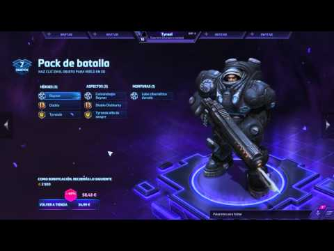Pack del fundador Heroes of the Storm - ¿Merece la pena?