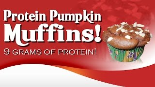 Protein Pumpkin Muffins! Low Carb With Protein Recipe! Video