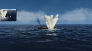 Sinking One Small Tanker in Silent hunter 3 with the GWX Supermod