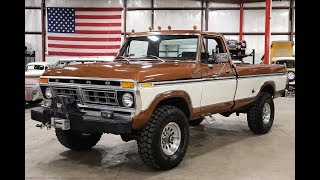 1977 Ford F250 Brown