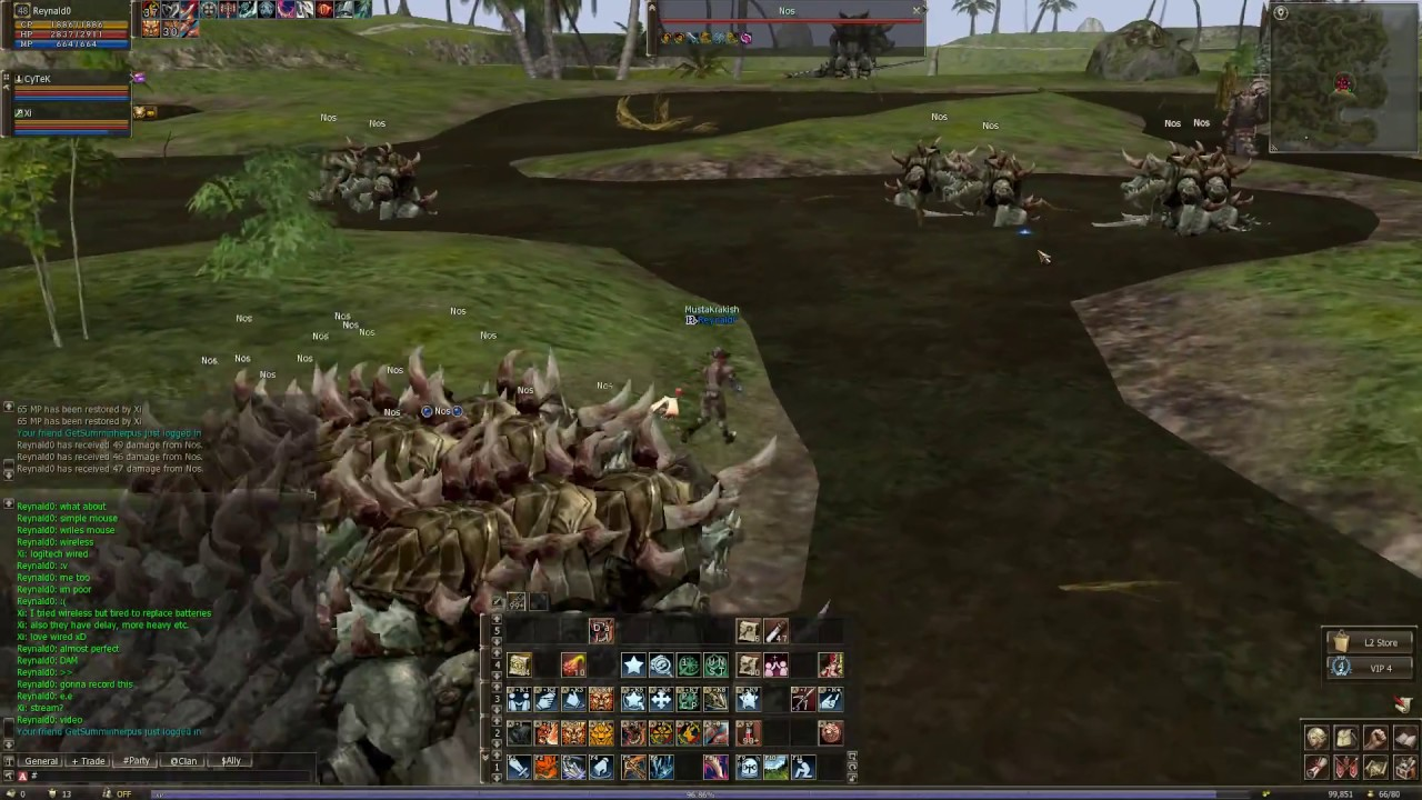 Lineage 2 Classic Warlord Alligator Island NA Aden server