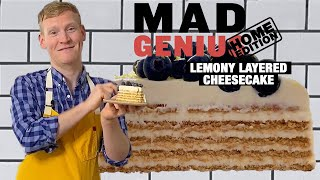 Easy No-Bake Lemon Cheesecake for Mother's Day  | Mad Genius | Food & Wine