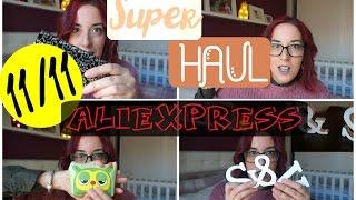 MEGA haul ALIEXPRESS | Gafas graduadas,deco, etc| El rincón de ginger
