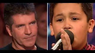Furioso Simón se burla del niño de 12 años, entonces él los deja a TODOS sin habla