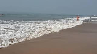 Утро на пляже Мандрем