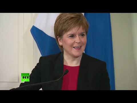 LIVE: Scotland's First Minister Nicola Sturgeon gives speech
