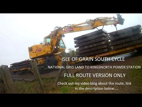 Isle of Grain South Cycling - National Grid Land to Kingsnorth Power Station - Route Version Only