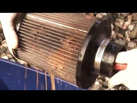 K Amp N Luchtfilter Schoonmaken En Inoli 235 N Youtube