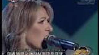 Celine Dion  - Alone (in tears, very emotional)
