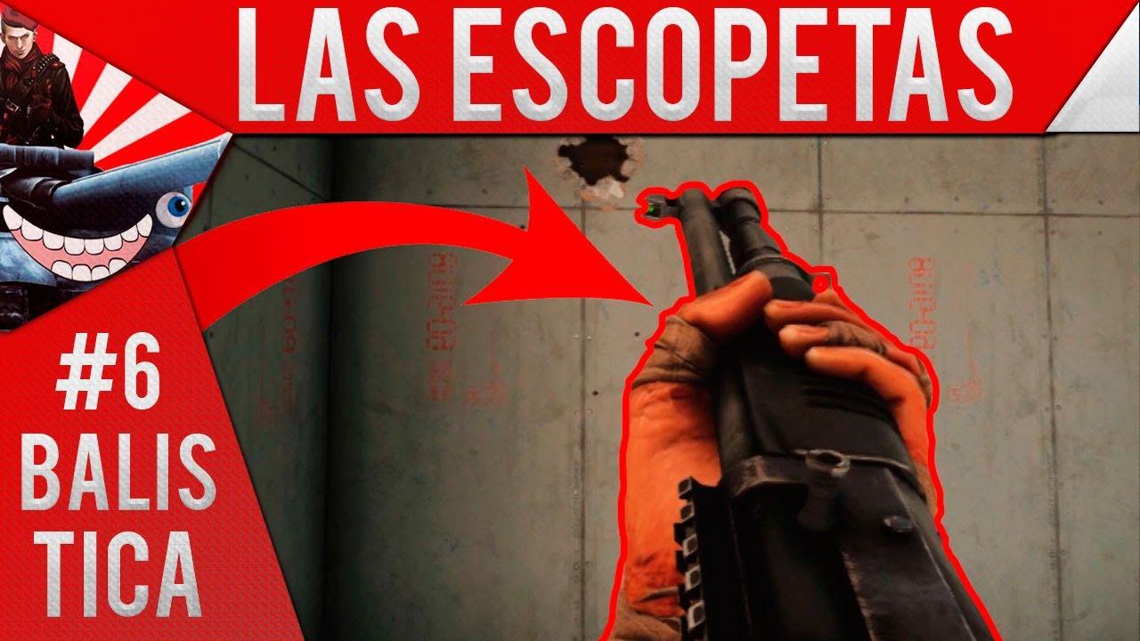 ¡LOS SECRETOS DE LAS ESCOPETAS! - BALISTICA EN RAINBOW SIX #6