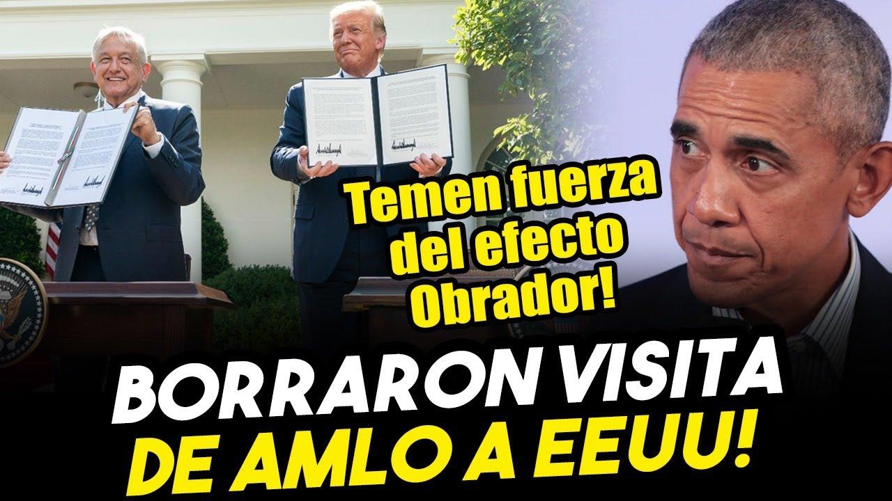 Opositores temen efecto Obrador en EEUU y ¡BORRAN SU VISITA! en medios tradicionales