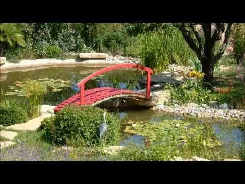 jardin japonais avec plan d 39 eau atelier fleuridas paysage youtube. Black Bedroom Furniture Sets. Home Design Ideas