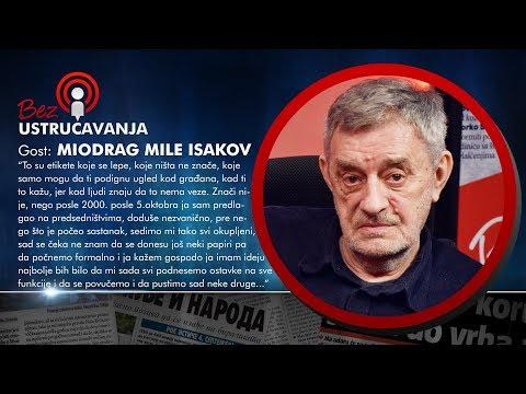 BEZ USTRUČAVANJA - Miodrag Mile Isakov: Još nije sazrelo vreme da opozicija sruši Vučića!