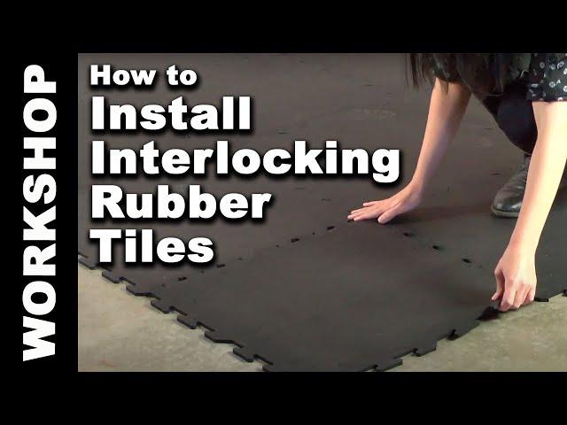Interlocking Rubber Floor Tileats