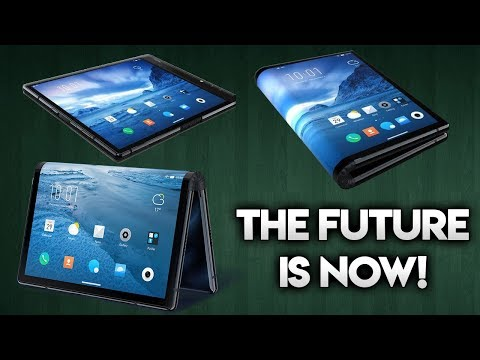 WORLDS 1ST FOLDABLE PHONE OFFICIALLY LAUNCHED