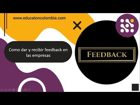 Como dar y recibir feedback en las empresas