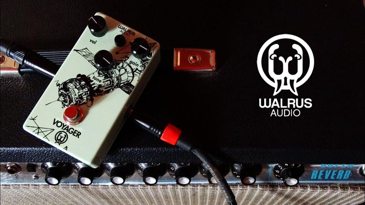walrus audio voyager through fender super reverb youtube. Black Bedroom Furniture Sets. Home Design Ideas