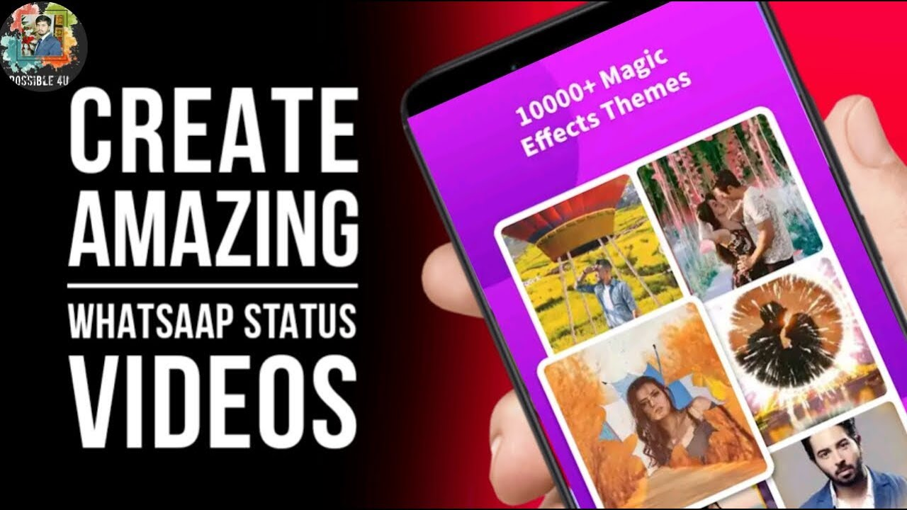 Best Whatsapp Status Maker App Best Status App Effects Whatsapp Status Status Video 2020