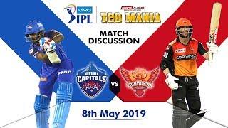 Delhi vs Hyderabad T20   Live Scores and Analysis (English)   IPL 2019