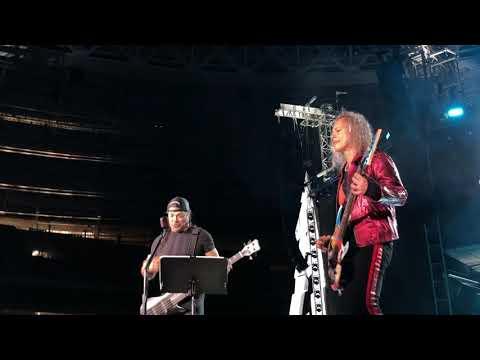 "Metallica «Группа Крови» Металлика КИНО (""Groupah Krovee"" Viktor Tsoi) Moscow Luzhniki 21.07.2019"