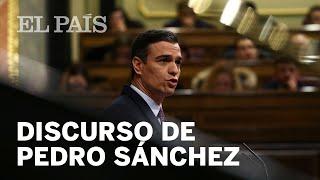 El DISCURSO de INVESTIDURA completo de PERO SÁNCHEZ