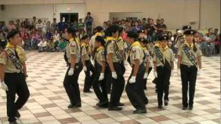 Edinburg Castle Pathfinder Club Drill Team, Nov. 20, 2010