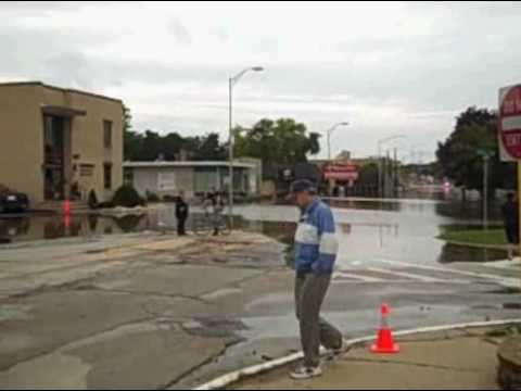 Des Plaines, Illinois, Flooding, Affects of Hurricane Ike