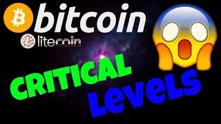 🔥BITCOIN and LITECOIN CRITICAL LEVELS🔥! bitcoin litecoin price prediction, analysis, news, trading