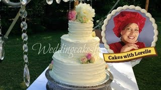 Cake Trend How to Make A Rustic Wedding Cake