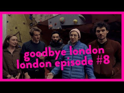 Last week at the Arch Climbing Wall // London Episode #8