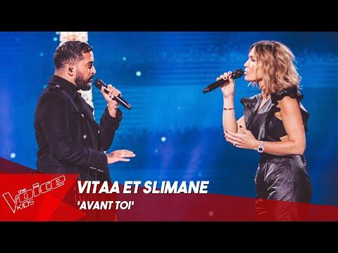 Vitaa et Slimane - 'Avant toi'   Finale   The Voice Kids Belgique